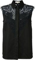 Stella McCartney lace detail sleeveless shirt - women - Cotton - 40