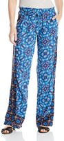 Roxy Junior's Oceanside Printed Beach Pant