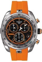 Tissot Men's T0764171705701 PRS 330 Analog Display Swiss Quartz Orange Watch
