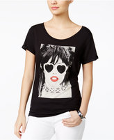 GUESS Beaded Glam Girl Graphic T-Shirt