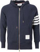 Thom Browne zip hoodie - men - Cotton - 1