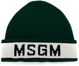 MSGM logo beanie - men - Wool/Polyacrylic - One Size