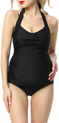 Kimi and Kai Nancy One-Piece Maternity Swimsuit