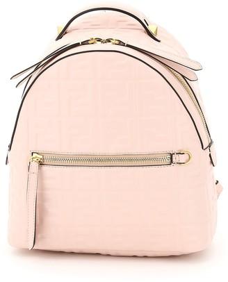 Fendi FF Motif Embossed Mini Backpack