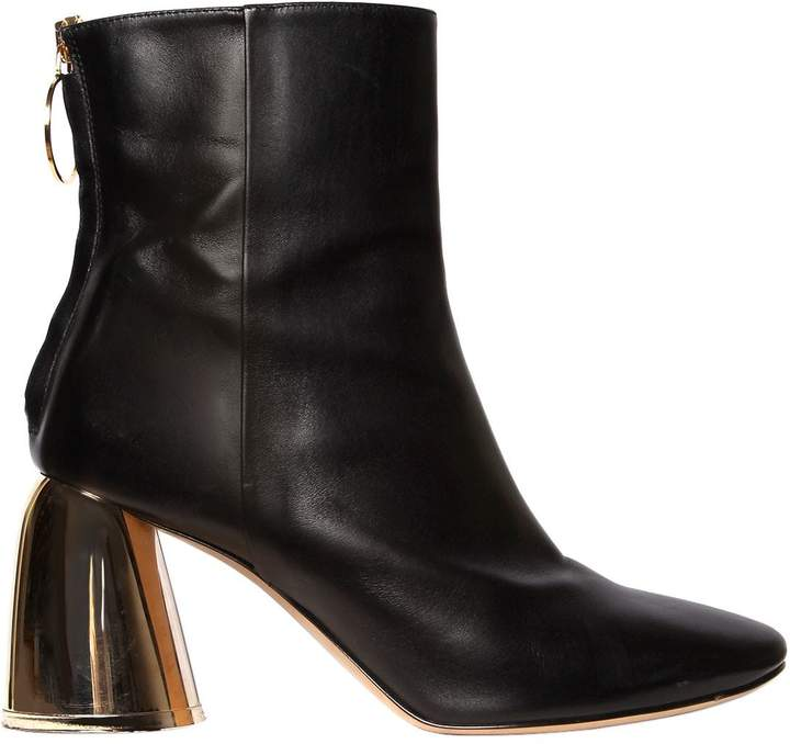 Ellery 80mm Leather Ankle Boots