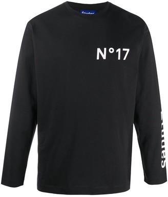 Études long sleeve logo print T-shirt