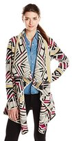 Lucky Brand Women's Intarsia Sweater Coat