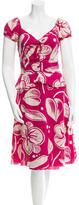 Moschino Cheap & Chic Moschino Cheap and Chic Printed Peplum Dress