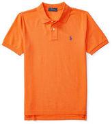 Ralph Lauren Boys 8-20 Logo Embroidered Cotton Polo