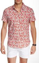 Parke & Ronen Biscayne Short Sleeve Slim Fit Shirt