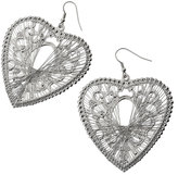 Heart Dream Catcher Earrings**