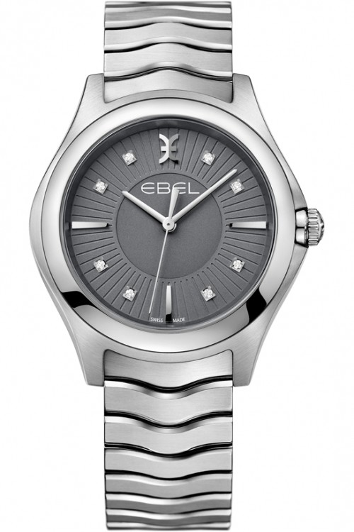 Ebel Ladies Wave Diamond Watch 1216307
