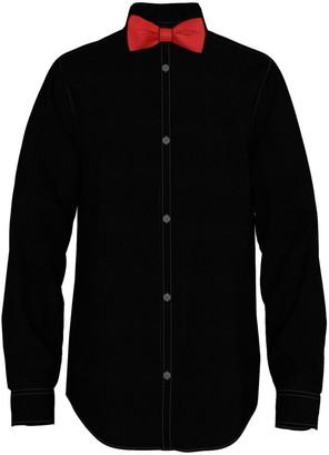 Van Heusen Boys 10-20 Husky Shirt & Bow Tie Set