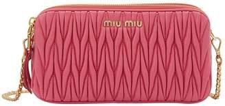 Miu Miu Quilted clutch
