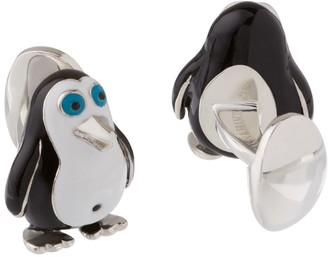 Deakin & Francis Penguin Bellybutton Cufflinks