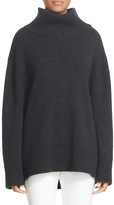 Rag & Bone Phyllis Oversize Wool Blend Turtleneck Sweater