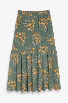 Monki Prairie maxi skirt