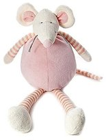 34cm Pastel Pink Cuddly Soft Toy Mouse for Newborn Baby Girl by Mousehouse Gifts