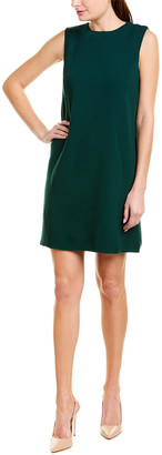 Oscar de la Renta Wool-Blend Sheath Dress