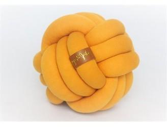JuJu & Jake Mini Knot Pillow - Mustard Yellow