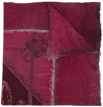 Avant Toi Egyptian print scarf
