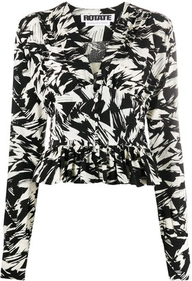 Rotate by Birger Christensen Abstract Print Top