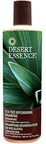Desert Essence Desert Essence, Daily Replenishing Shampoo, Tea Tree, 12.9 oz