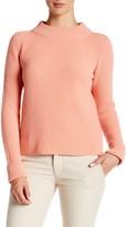 Lafayette 148 Merino & Cashmere Ribbed Sweater