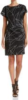 SABA Contour Print Dress