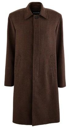 Balenciaga Houndstooth wool coat