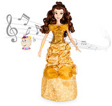 Disney Belle Deluxe Interactive Doll with Singing Mrs. Potts Figure - 16''