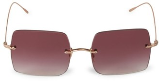 Oliver Peoples Oishe Sun 57MM Square Sunglasses