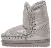 Mou Eskimo Kid Glittered Shearling Boots