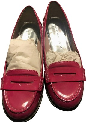 Marc by Marc Jacobs Red Patent leather Flats