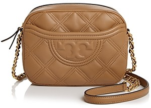 Tory Burch Fleming Soft Quilted Leather Camera Bag