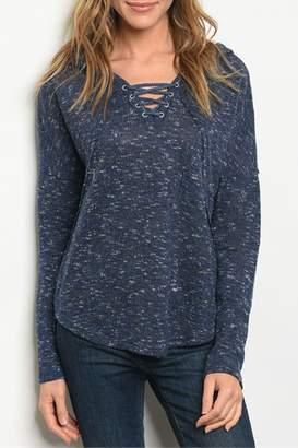 Loveriche Criss Cross Sweater
