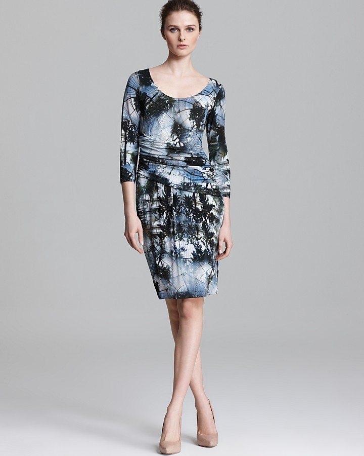 Escada Jersey Dress - Atrium Print