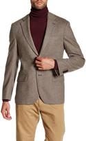 Spurr by Simon Spurr Chevron Pattern Wool Sportcoat