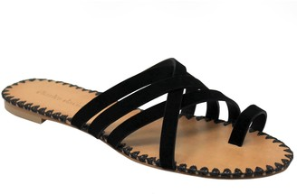 Charles by Charles David Charles David Strappy Toe Thong Slide Sandals -Session