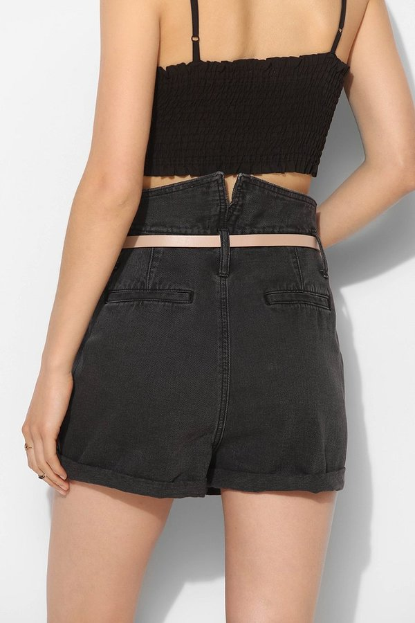 BDG Fold-Over Waistband Denim Short - Gypsy