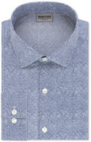 Kenneth Cole Reaction Men's Slim-Fit Techni-Cole Performance Steel Blue Dress Shirt