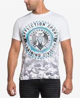 Affliction Men's Recon Elite Ombré Camouflage Graphic-Print T-Shirt