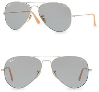 Ray-Ban RB3025 58MM Iconic Polarized Aviator Sunglasses