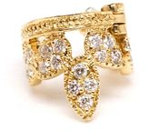 Leon Yvonne diamond helix ear cuff
