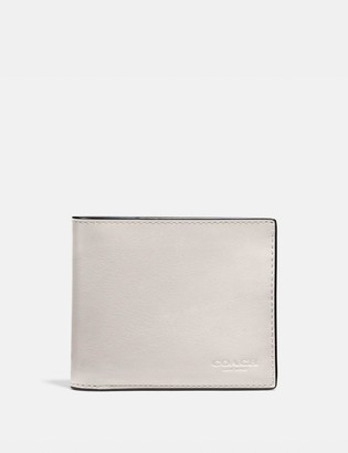 Coach 3-In-1 Wallet With Signature Canvas Interior