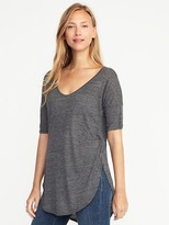 Old Navy Relaxed Curved-Hem Tunic for Women