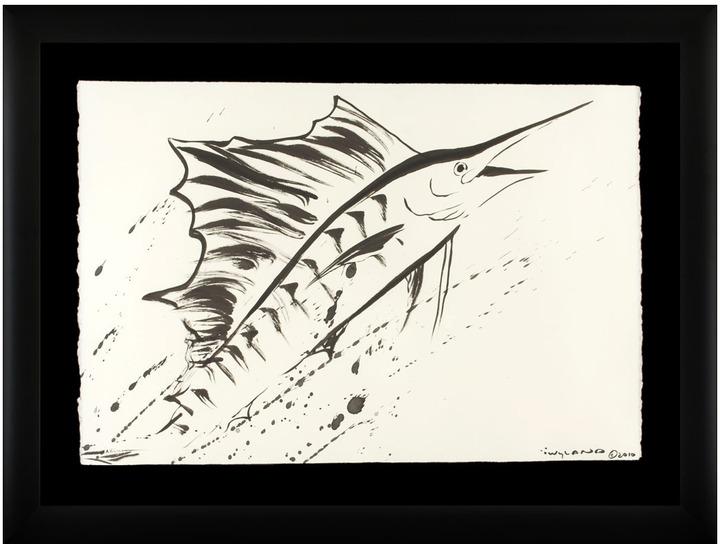 Sword Fish Swordfish (Framed)