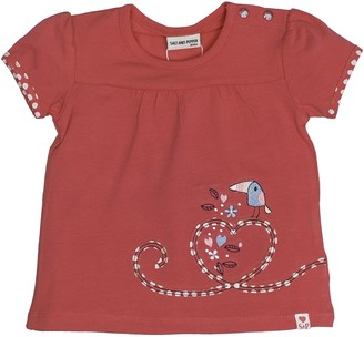 Salt&Pepper Salt and Pepper Baby Girls' B T-Shirt Love uni Stones