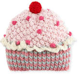 Grevi Kids' Knit Cupcake Beanie Hat