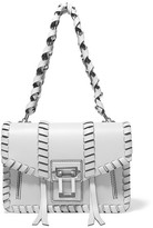 Proenza Schouler Hava Whipstitched Leather Shoulder Bag - Stone